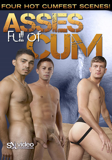 Bareback Asses Full of Cum - Diego Cruz, Vincent Drake, Jeremy Blair