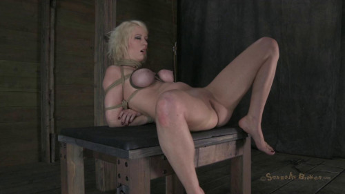 Sexy Blond, Ass Fucked-rough bdsm porn
