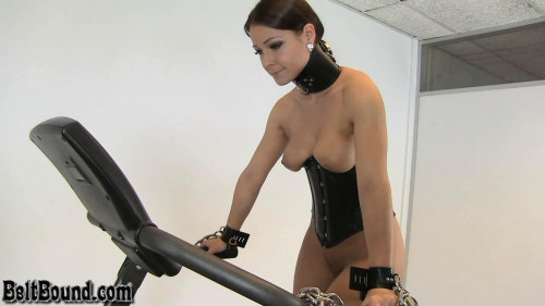 Melissa – Treadmill drill session