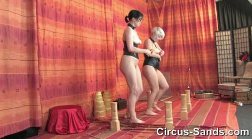 Ponygirls Jane and Kasha part 1 BDSM