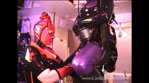 Sweet Magic Beautifull Gold Cool Collection CastleDiabolica. Part 1. BDSM Latex