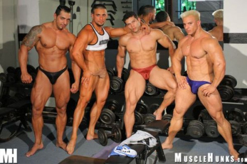 MuscleHunks - Nacho's Gym Part 2 Gay Unusual