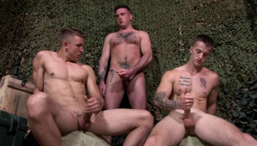 Sexy Soldiers With Hard Dicks