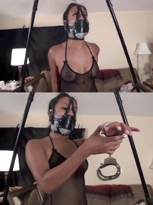 Super bondage and strappado for young latina model