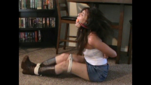 Booted, Bound And Terrorized!