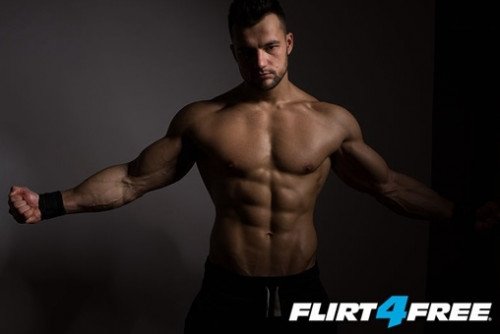 Flirt4Free Aydan Barney aka Hot Fighter Raul Collection