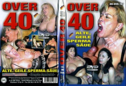 Over 40 - Alte, Geile Sperma Saue Mature, MILF