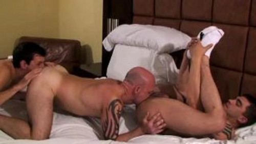 Greater quantity Bareback Threesomes - Tim Tyler, Andre Barclay, Sage Daniels
