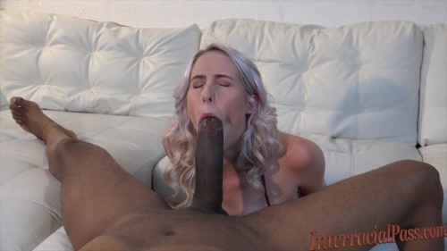 Holy Shit! Blonde takes a BBC bigger than her ARM!