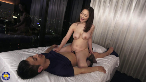 Japanese MOTHER ID LIKE TO FUCK fucking her unrepining stepson
