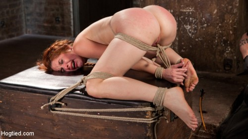 Sexy Spanish Slut Bound with Pain, Hot Wax and Orgasms!!!