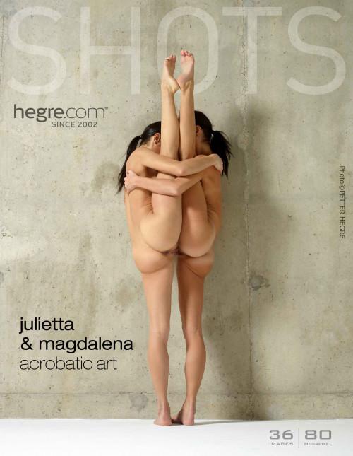 Fine Art Nudes – Ballerina – Acrobatic Art