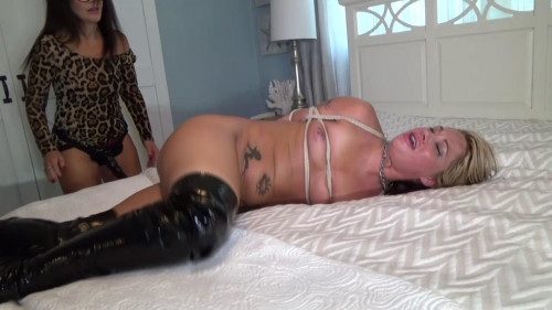 Face Fucked & Pussy Ravaged By Her Jilted Sugar Momma