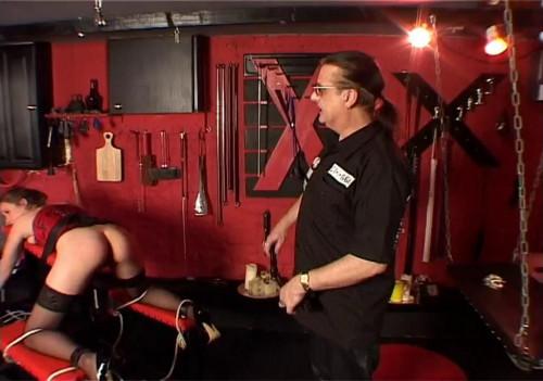 Masters Slavegirl receives Spanked