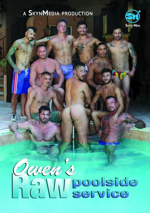 Skyn Men Media- Owen's Raw Poolside Service (Full 1080p) Gays