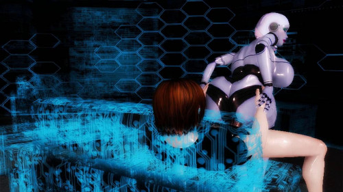 Virtual Robo Pussy 3D Porn
