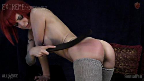 Self Spanking Love Slave - Abigail Dupree - Full HD 1080p