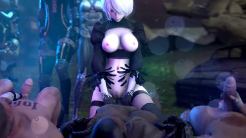 Nier-automata 3D Porno