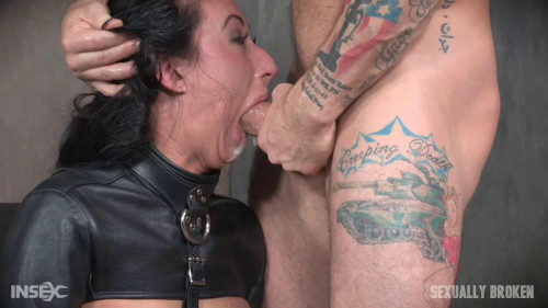 Big titted tan slut who can take a dick like!-rough bdsm porn