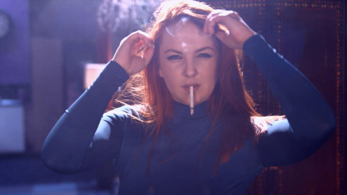 Smoking Models Kara smokes all white 100s menthols talking you before potential (2016)