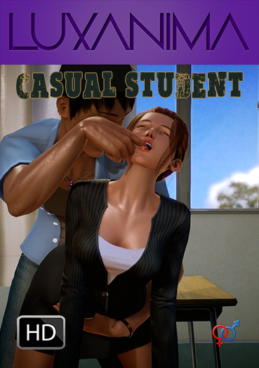 The Casual Student 3D Porn
