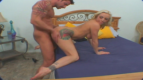 Blonde's hubby surprises with a hardcore banging Public sex