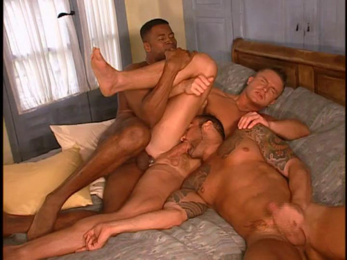 Giant-dicked orgy Gay Retro