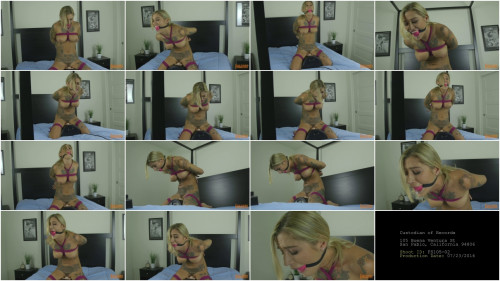 Kleio Valentien - Bound on a Sybian BDSM
