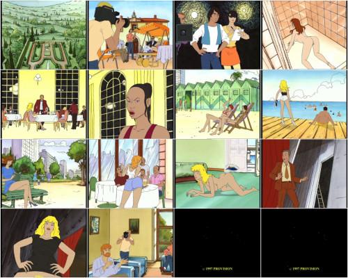 Parfum de l'invisible, Le Cartoons
