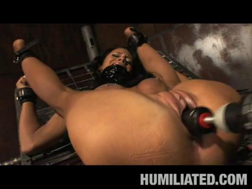 Bondage and Fucking Machines - Collection 2018 Year - Part 2 Sex Machines