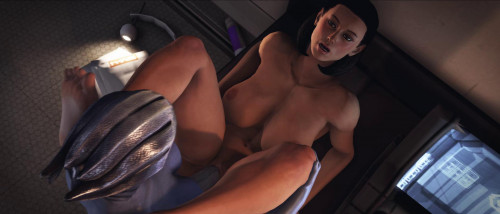Liara & Dr. Eva Corê 3D Porno