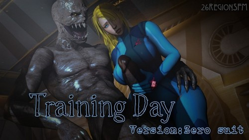 Samus Training 3D Porno