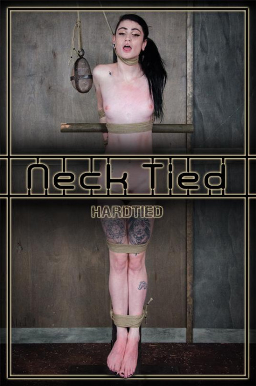Neck Tied Lydia Black - BDSM,Humiliation,Torture HD 720p