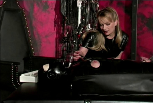 Best Bdsm Sex Videos Trapped In Latex and rubber wimp