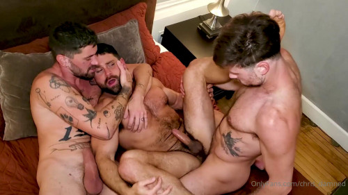 Chris Damned, Drew Dixon and Beau Butler - The 3Way Express Part 1