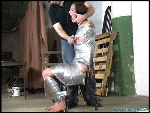 Illustrious Rouge Spanked, Taped, Tongue Clamped - Part 2 BDSM