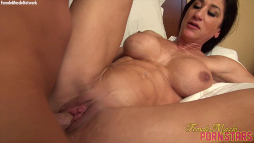 Hot Italian - She Gets Some. Then She Swallows Some. You See It All Female Muscle