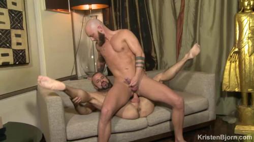 KB - Felipe Ferro & Jay Moore (Sex Men Beardy) Bareback Gays