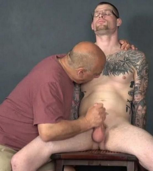 Rob Jerked And Milked Gay BDSM