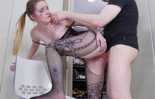 Punishment & Rough Anal For Dirty Slave