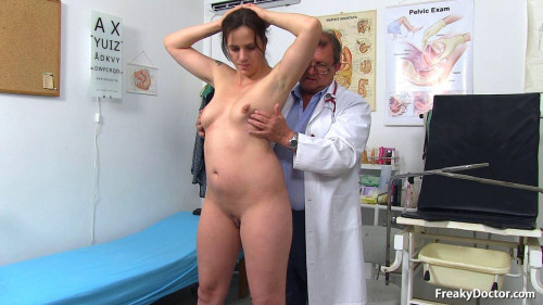 Alicia (27 years girls gyno exam) Unusual