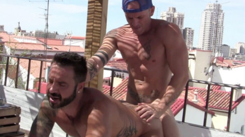 Rooftop Sex Martin Mazza and Max Duran