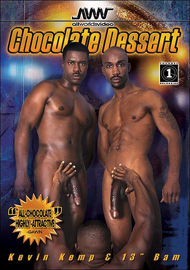 Chocolate Dessert Gay Retro