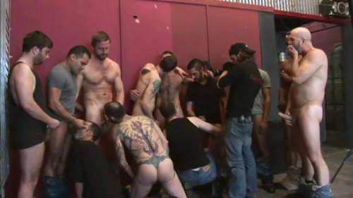 Hard Training Blowjob Orgy
