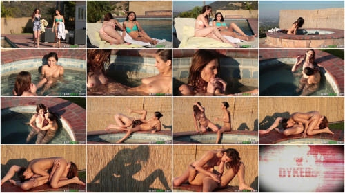 Ellena Woods & Nina North – Drowning In Her Flower – September 9, 2016