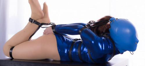 Restricted Senses – Blue Bodysuit Belted