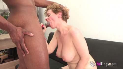 big boob white milf gets pounding from black cock full hd Interracial