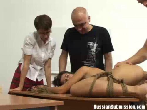 Gang in Russian School - Scene 2 - Lada Krivko