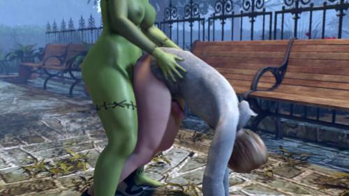 Halloween Special 3D Porno