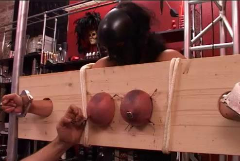 Hard Torture Boobs Girl In Mask (2016)